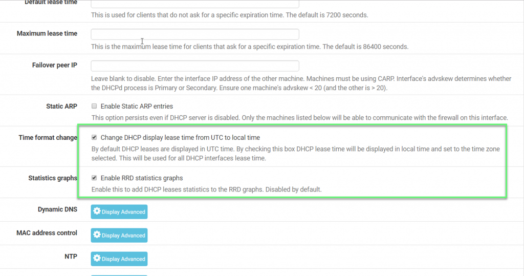 Pfsense: How to configure DHCP Server function on Pfsense